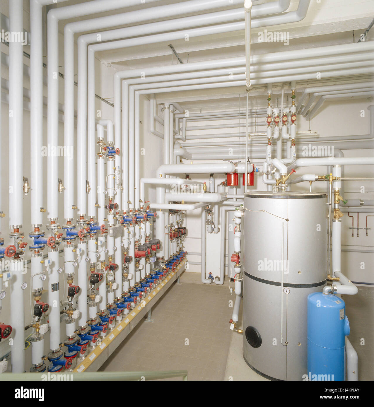 Heating room, to pipe, boiler hot water heating, heating, to pipe ...