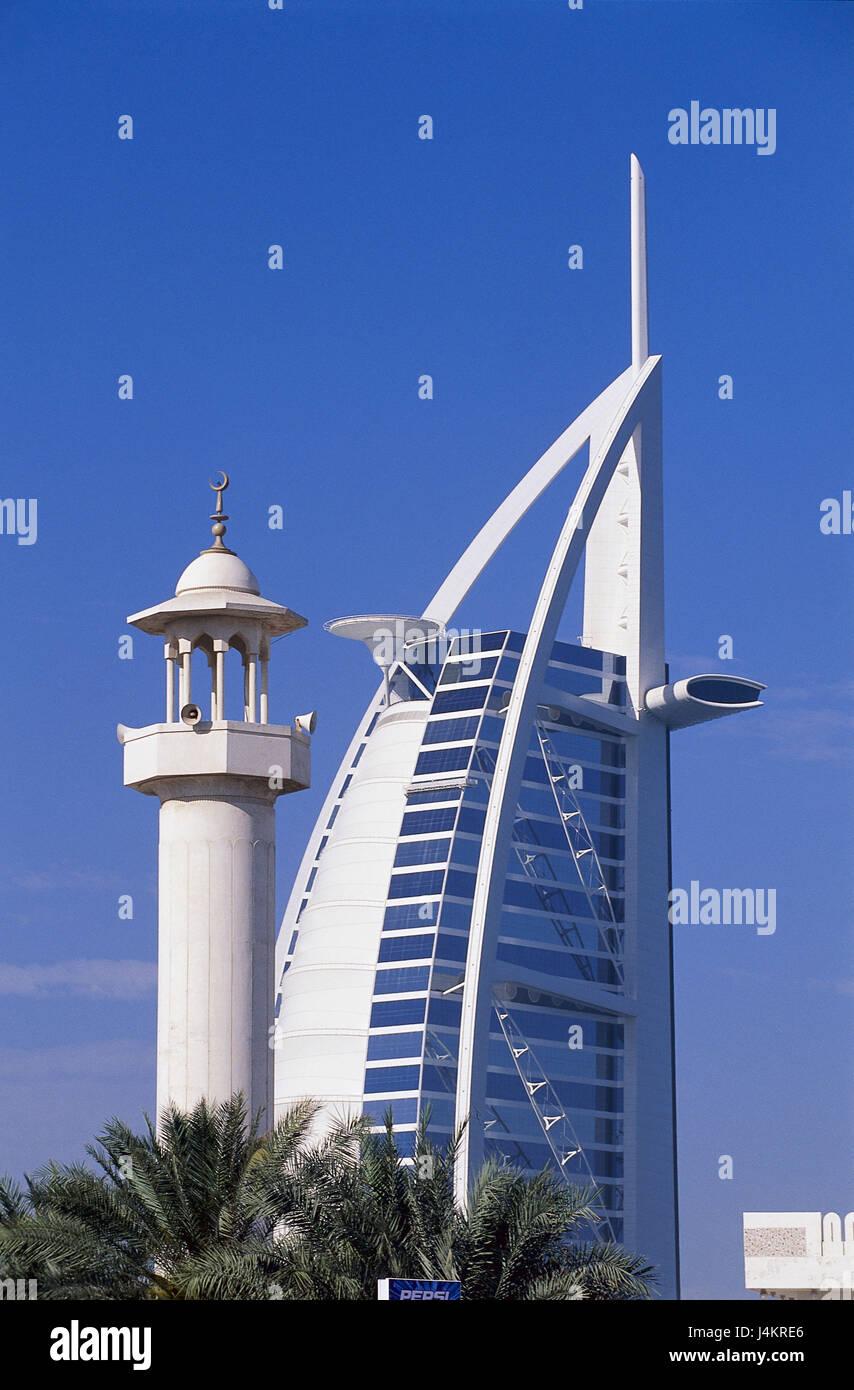 United Arab Emirates, Dubai, five-star hotel Burj Al Arab