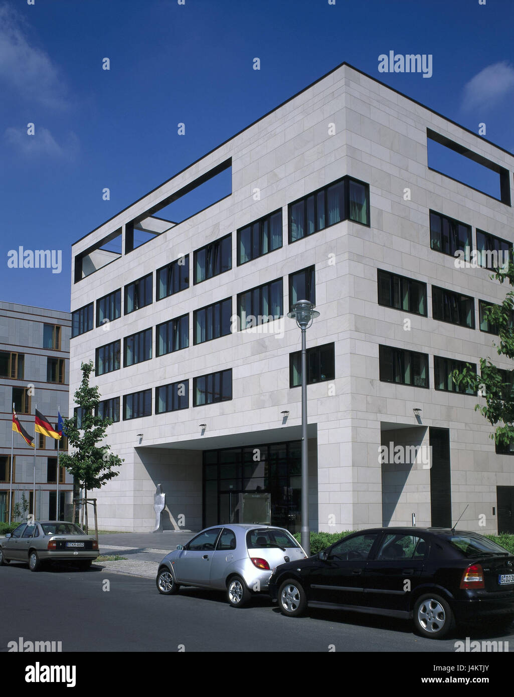 Germany, Berlin, middle, in the ministerial gardens, office building, land representative office Rhineland-Palatinate - Stock Image