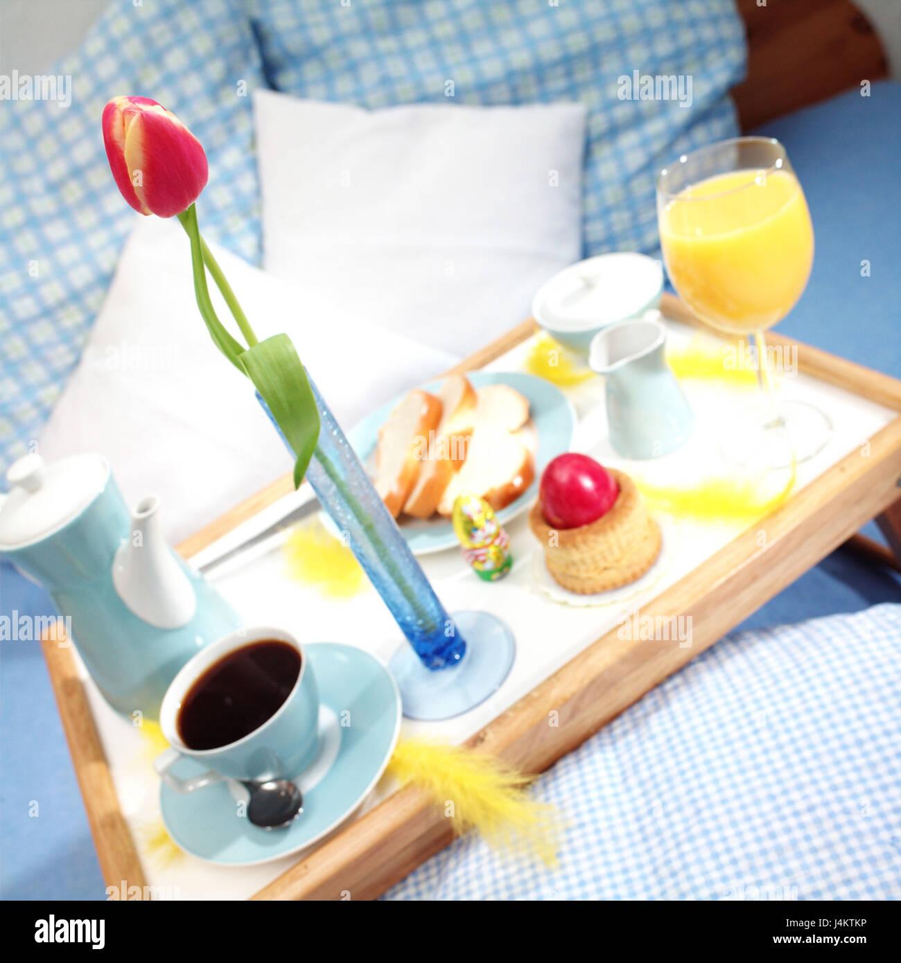 Easter, Bed, Tablet, Easter Breakfast Easter Feast, Easter Decoration,  österlich, Bedroom, U0027food Near The Bedu0027, Has Breakfast, Spoils Breakfast,  Coffee, ...