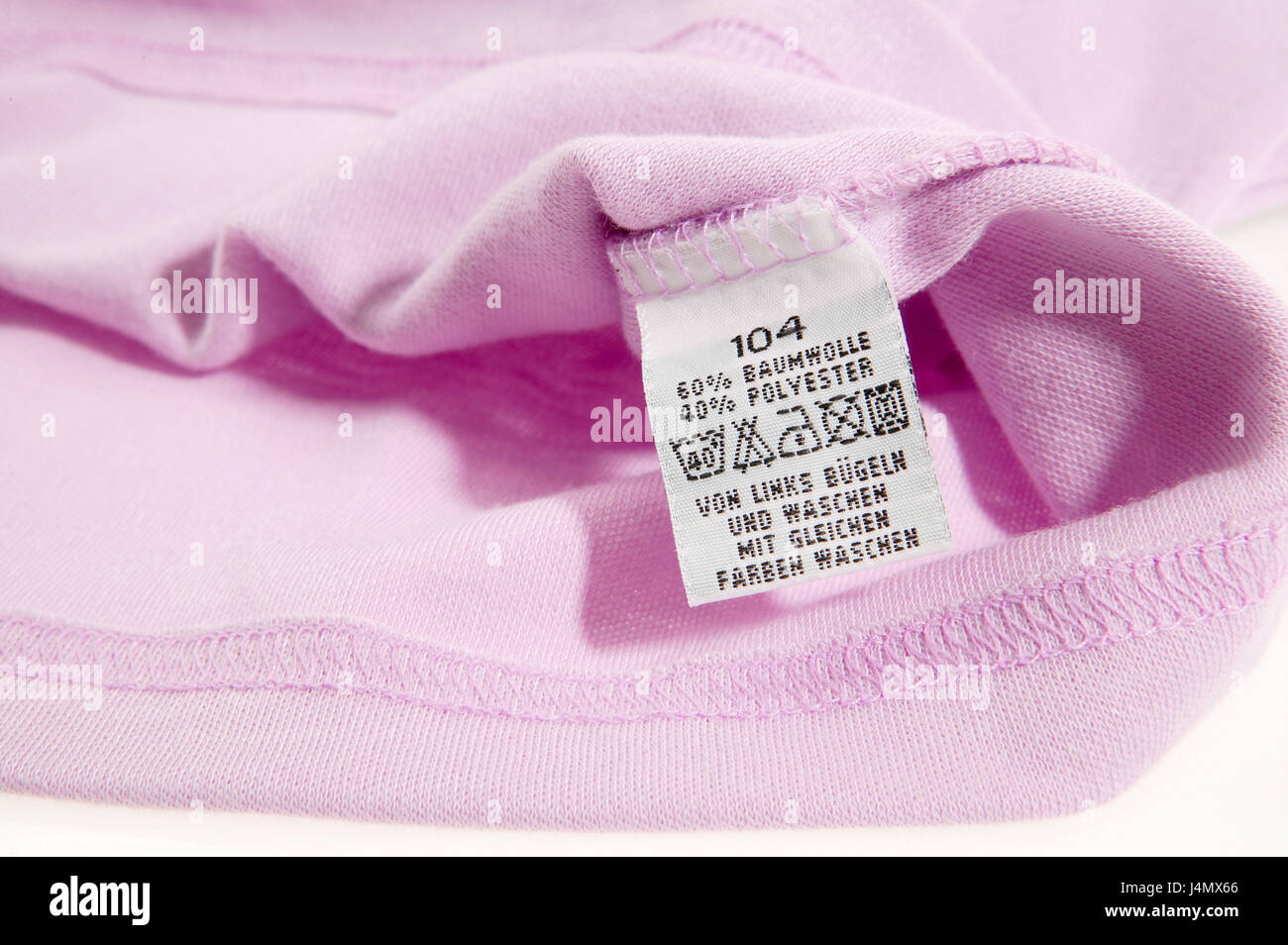 Garment Label Nursing Instructions Clothes Clothing Textiles
