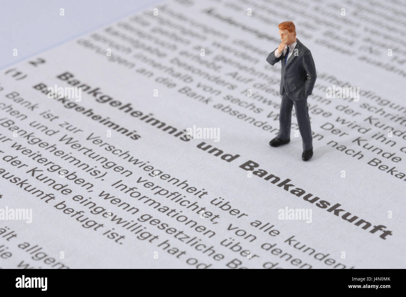 Form, GTCT, banking secrecy, bank reference, character, icon, banks, contract, terms of business, clauses, small - Stock Image