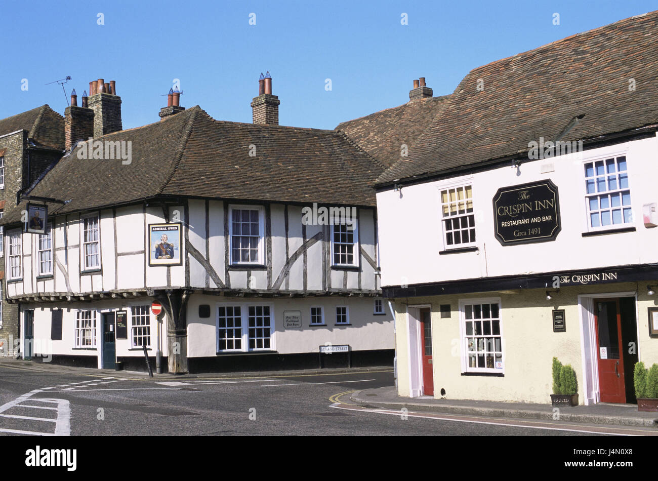 great architecture houses. Modren Architecture Great Britain England Kent Sandwich Local View Place Houses  Buildings Architecture Typically For Country Street Deserted Destination Tourism Throughout Architecture Houses T