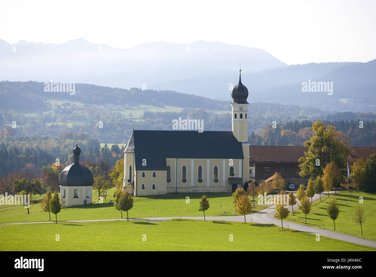 Germany, Bavaria, Wilparting, St. of Vets band, church piece Marianus-Anianus, autumn, - Stock Image