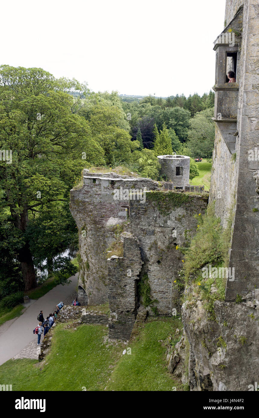 Ireland, Munster, county Cork, Blarney, Blarney Castle, castle, - Stock Image