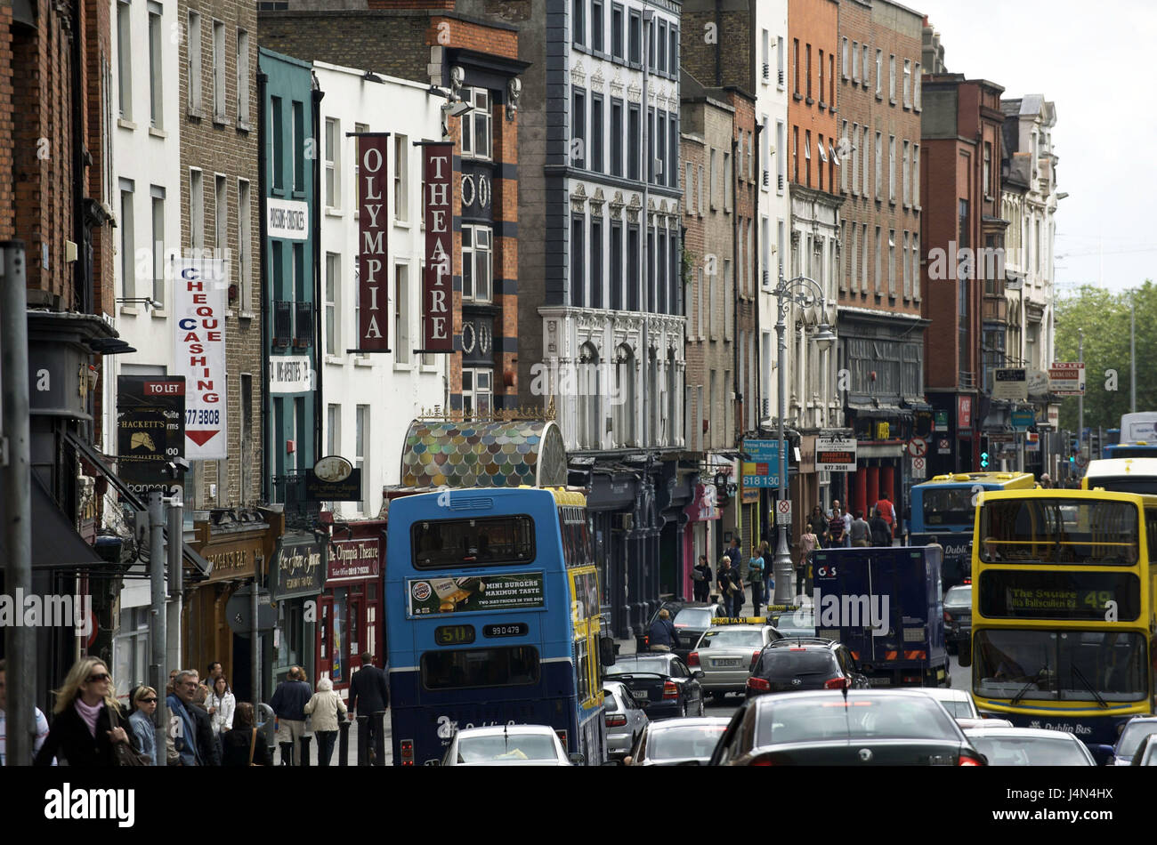 Ireland, Leinster, Dublin, lady Street, - Stock Image