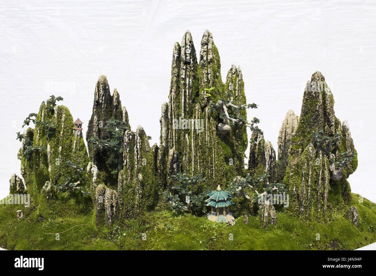 Bonsai Garden Peel Characters Dwarf S Tree Trees