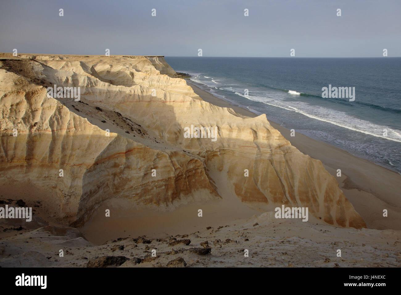 North Africa, Morocco, Western Sahara, formerly Spanish Sahara, Atlantic coast, - Stock Image