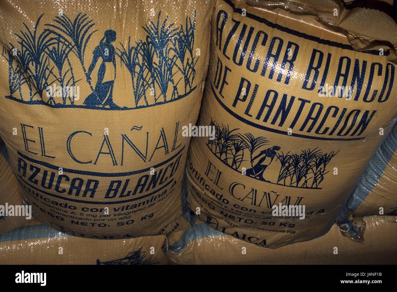 Costa Rica, San Isidro de tablespoons general, sugarcane, processing, - Stock Image