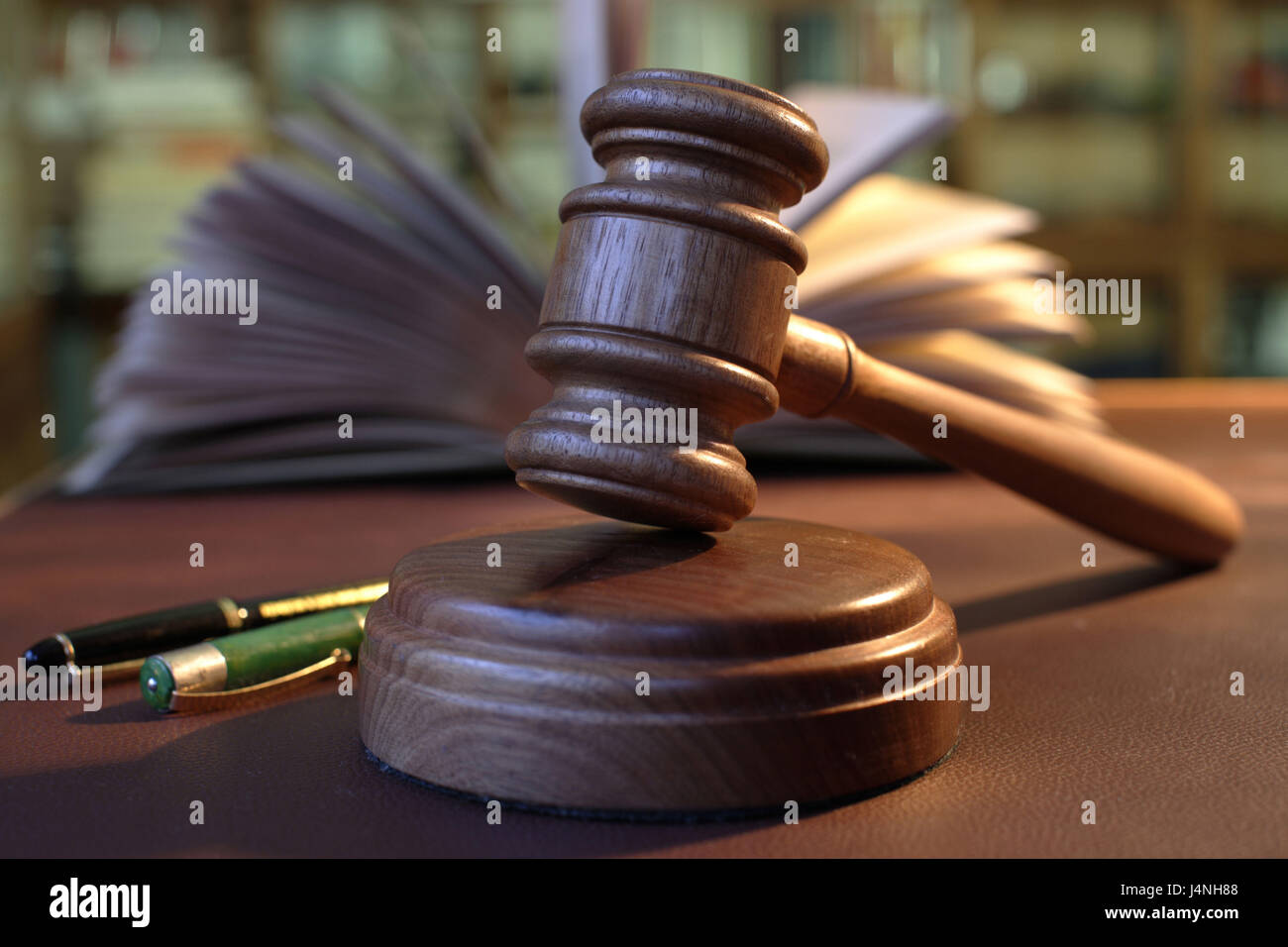 Auction howler, surcharge, - Stock Image