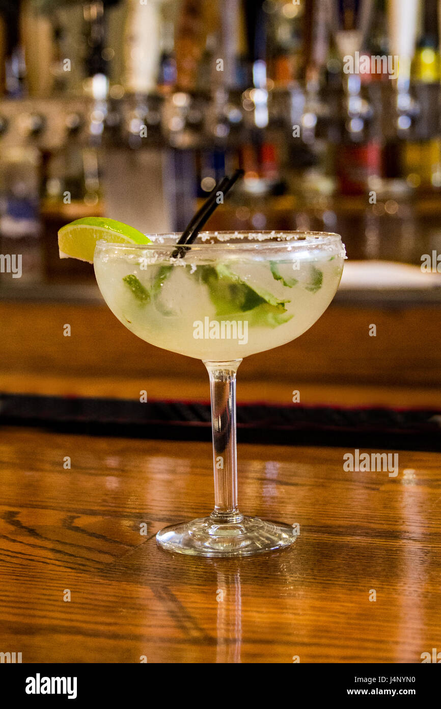 curry leave margarita - Stock Image