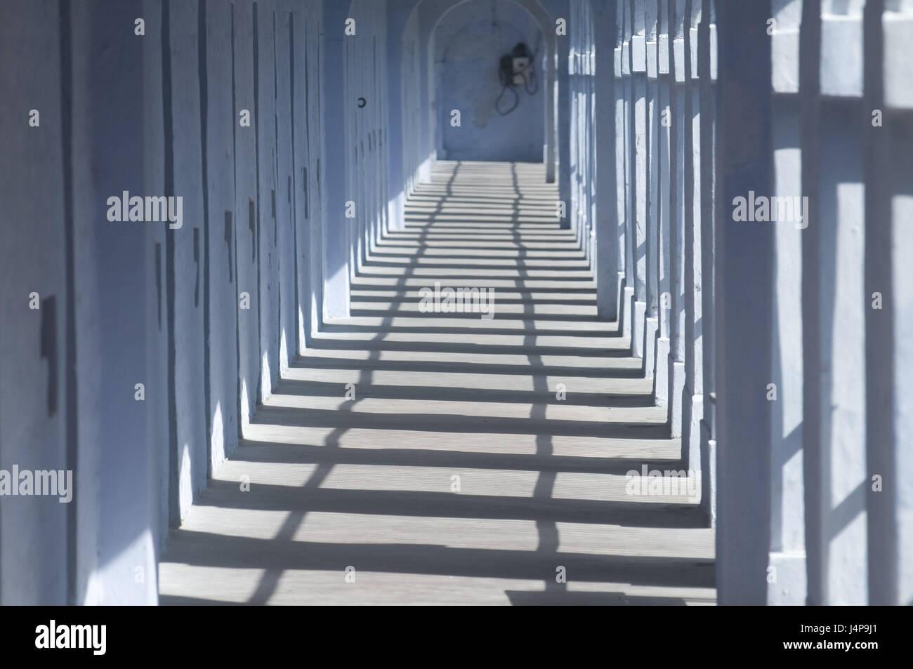 Cell walks, prison, port Blair, Andamanen, India, - Stock Image