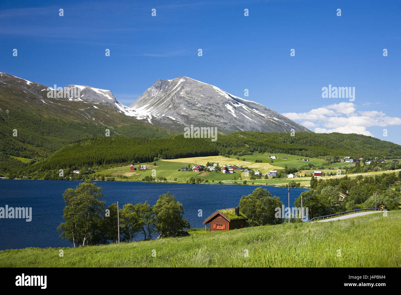 Norway, More og Romsdal, scenery, - Stock Image