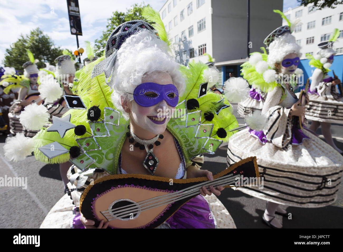 Great Britain, England, London, Notting Hill, carnival, no model release, - Stock Image