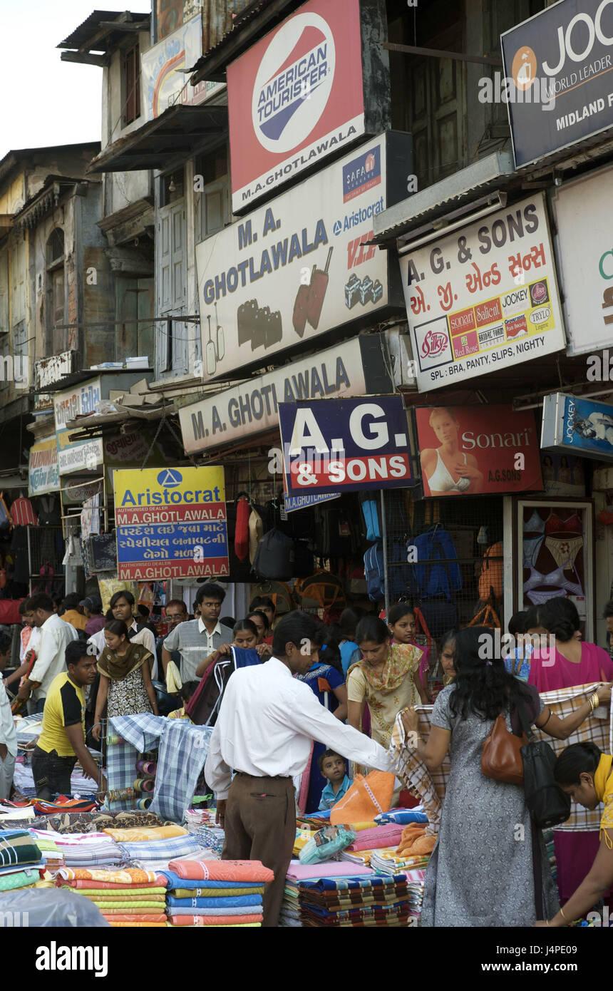 India, Gujarat, Ahmedabad, Manek Chowk fourth, - Stock Image