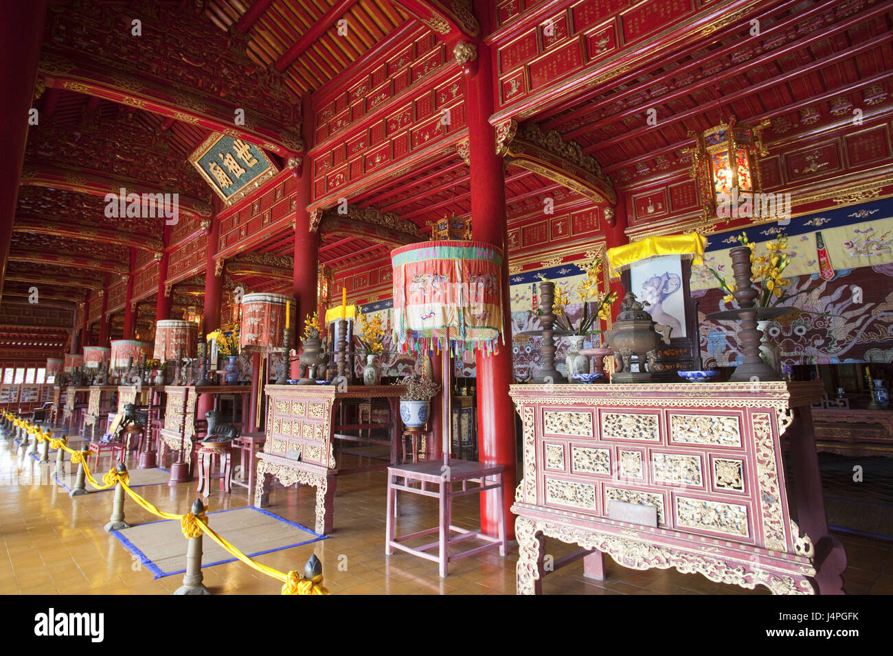 Vietnam, Gee up, stronghold, Mieu temple, - Stock Image