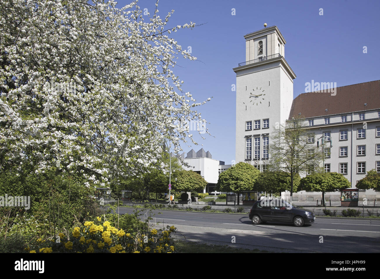 Germany, Berlin, Tempelhofer embankment, city hall, - Stock Image