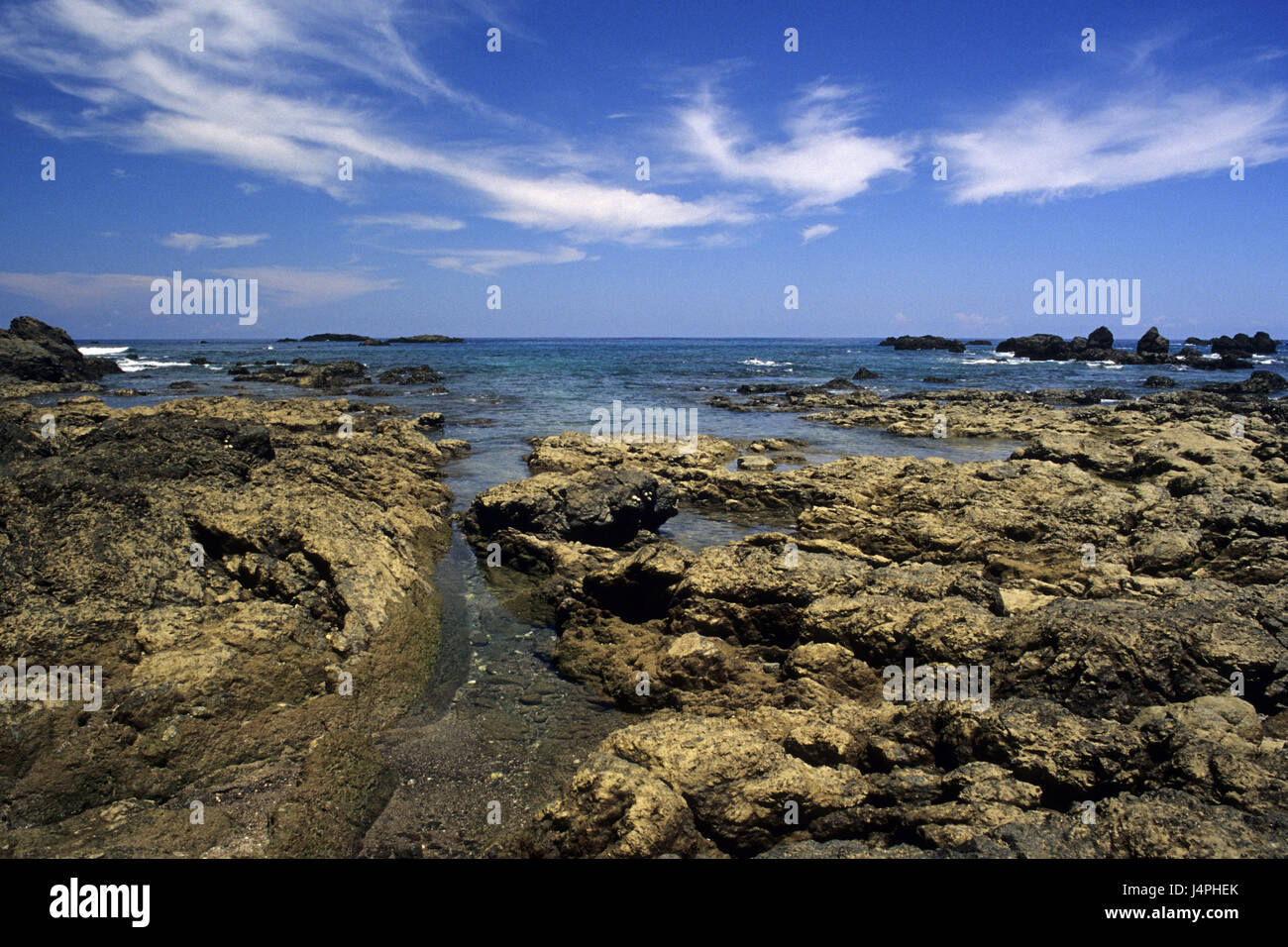 Costa Rica, Peninsula de Osa, sea, - Stock Image