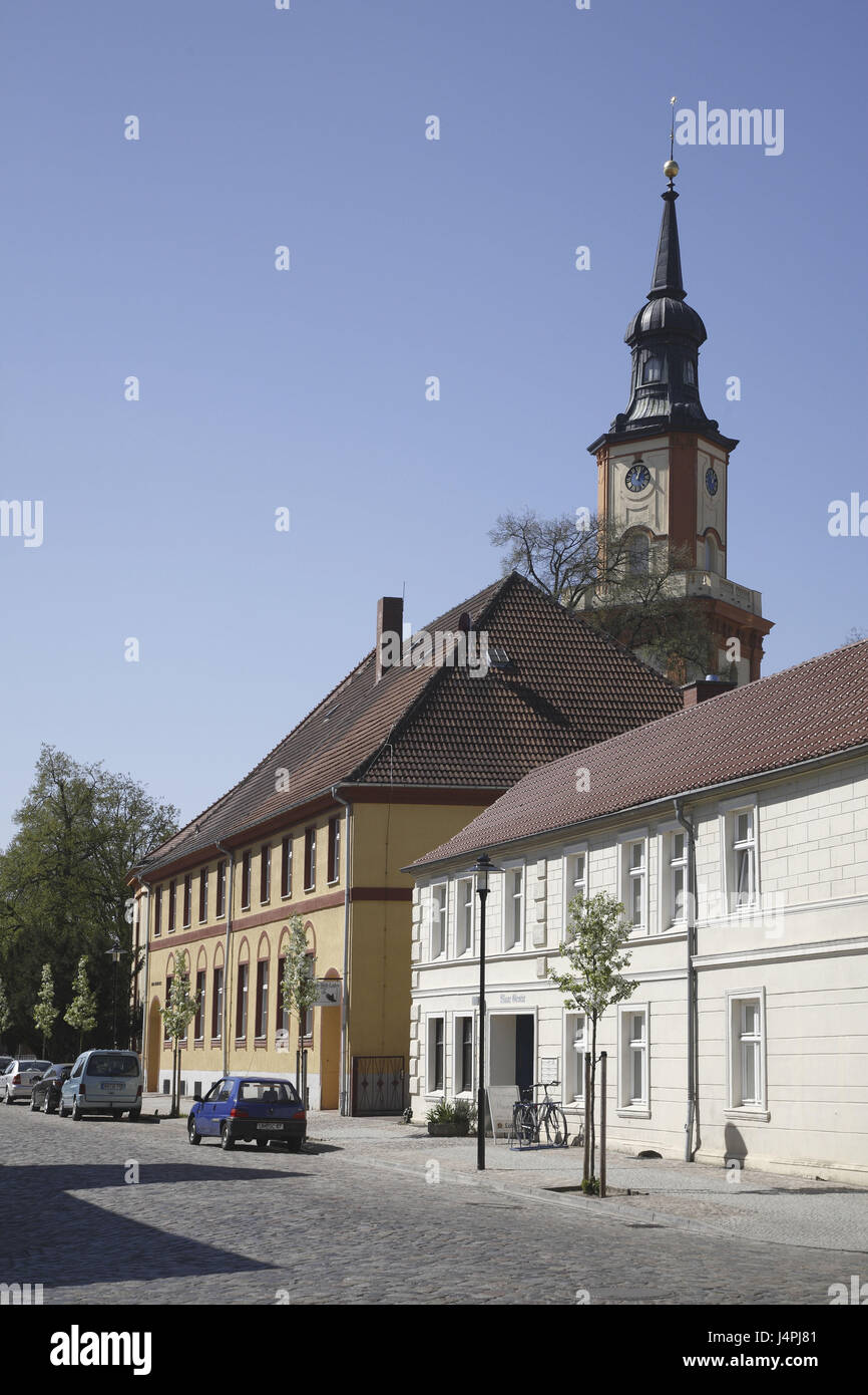 Germany, Templin, Maria's Magdalenen church, - Stock Image