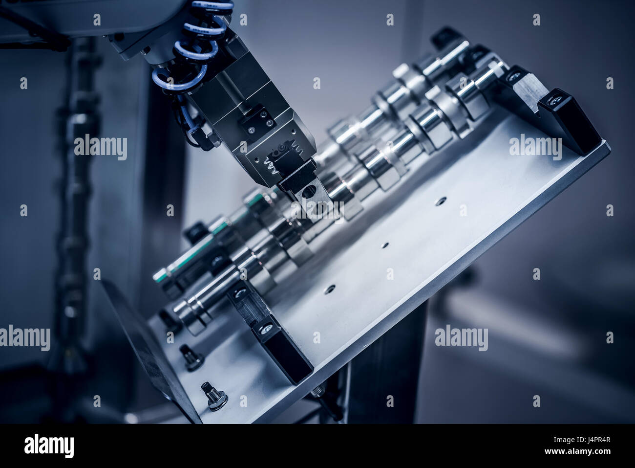 Robotic Arm production lines - Stock Image
