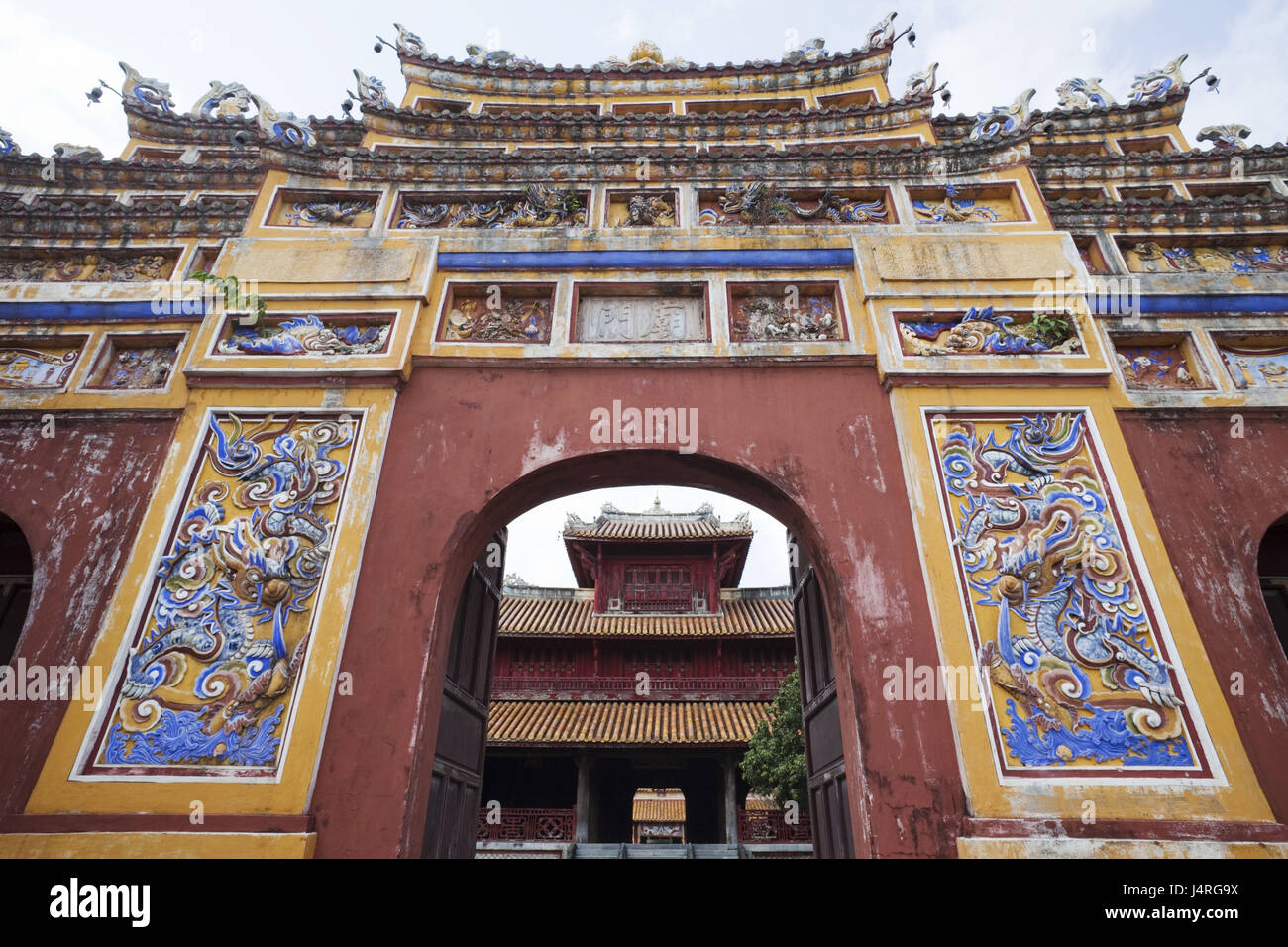 Vietnam, Gee up, stronghold, imperial attachment, Mieu temple goal, - Stock Image