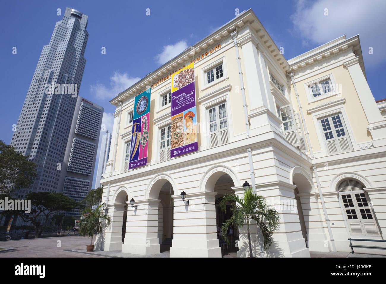 Singapore, Singapore town, Asian Civilisations museum, - Stock Image