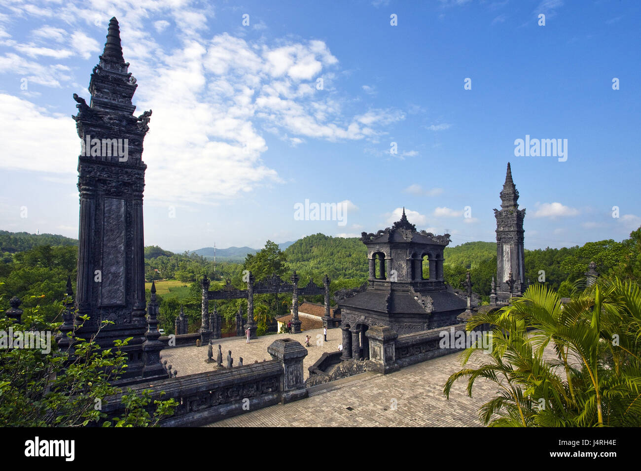 Vietnam, Chau Chu, Khai thing mausoleum Ung Long, - Stock Image