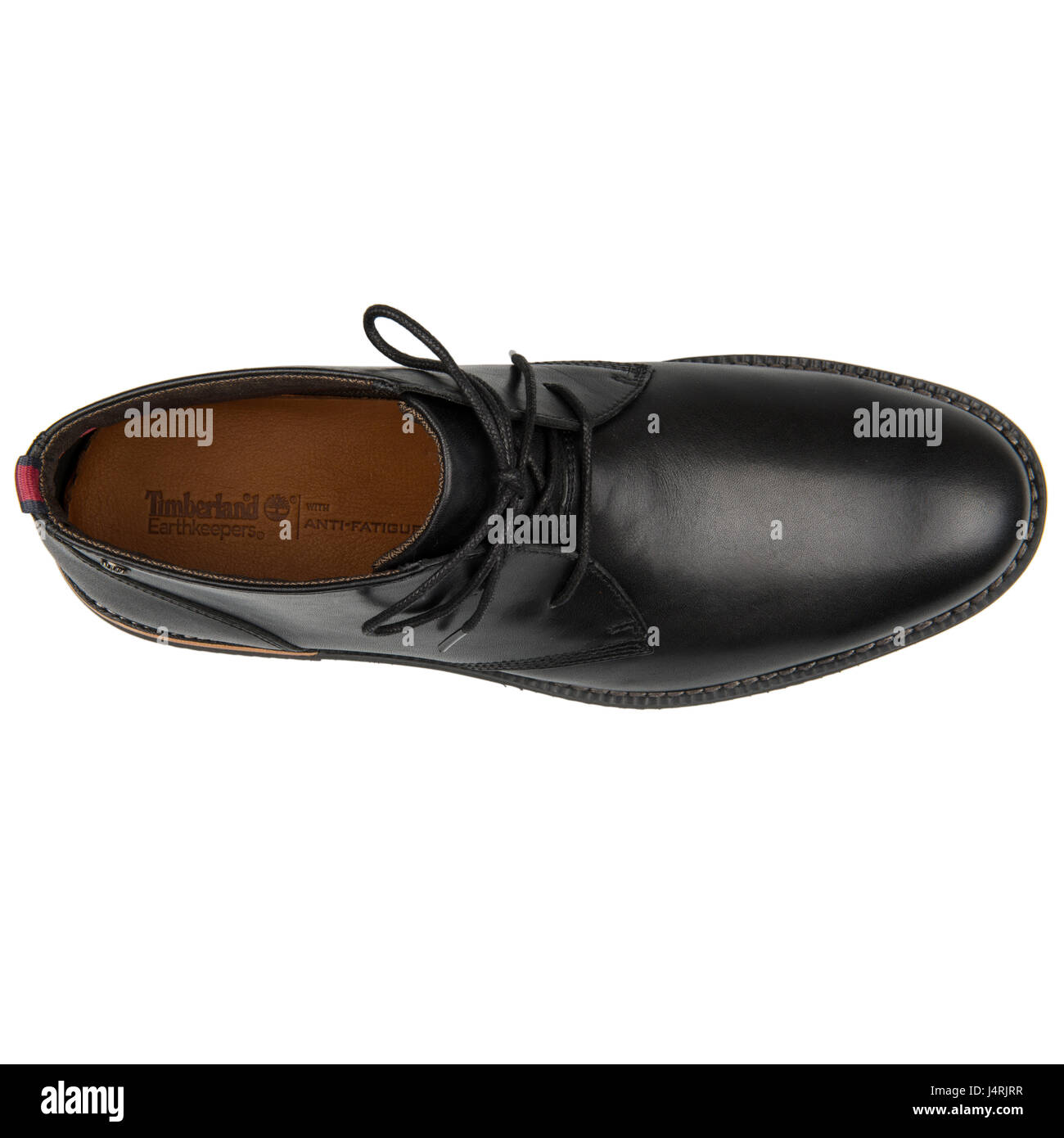 5213784f4ecfb Timberland Earthkeepers Brook Park Chukka Black Leather Shoes - 5512A -  Stock Image