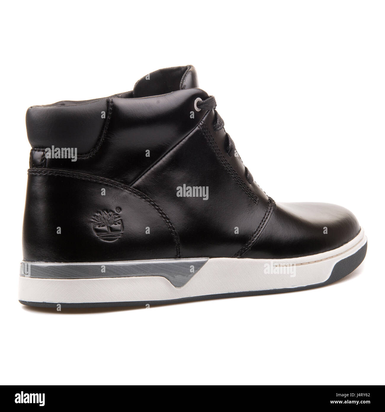 Premonición para Apellido  Timberland Leather Chukka Black Men's Leather Boots - A12V7 Stock Photo -  Alamy
