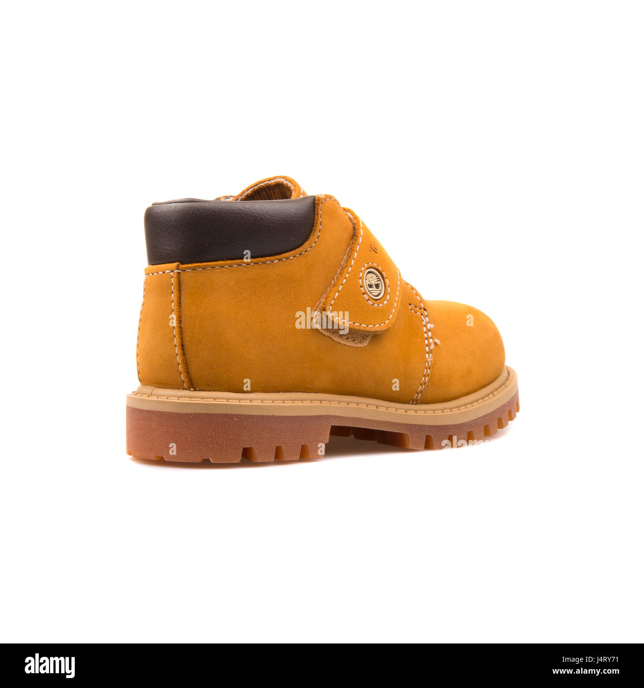 Timberland WP Chukka Hoop and Loop Wheat Toddlers Boots - 12853 - Stock Image