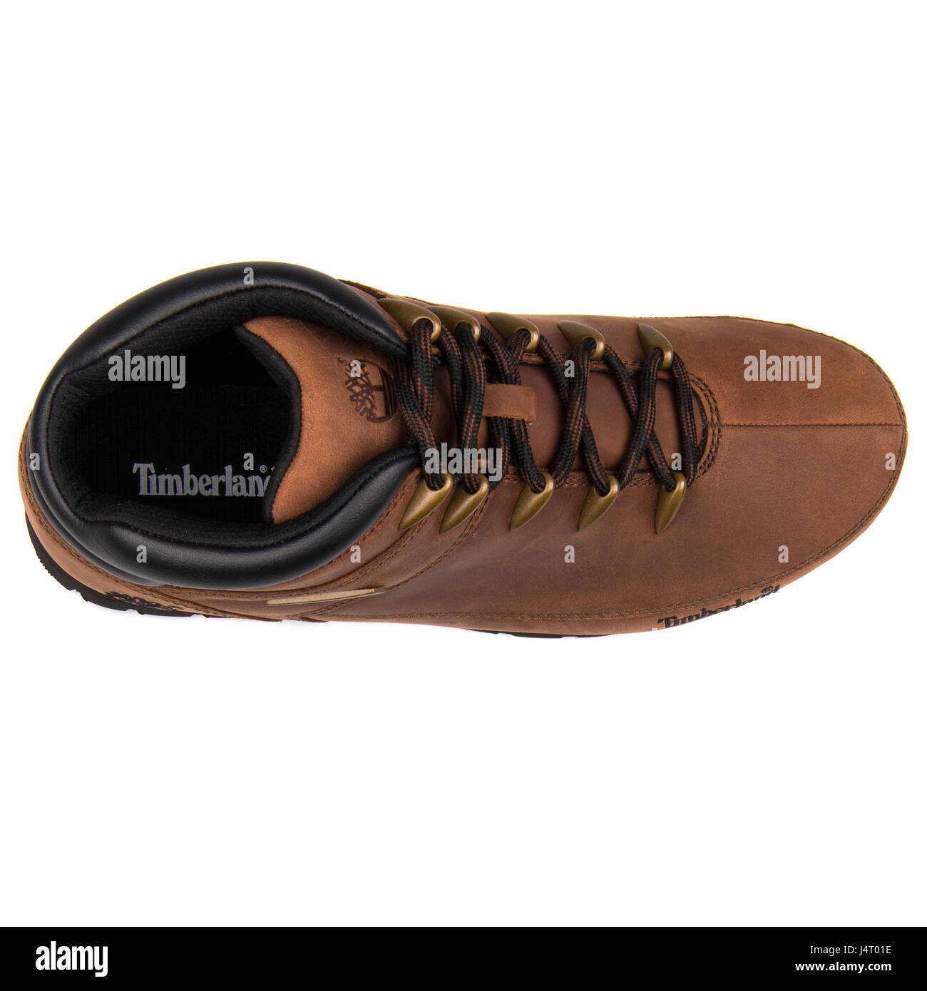 Timberland Euro Sprint Hiker Nubuck Brown Leather Boots - A11ZX ... c01078aa8