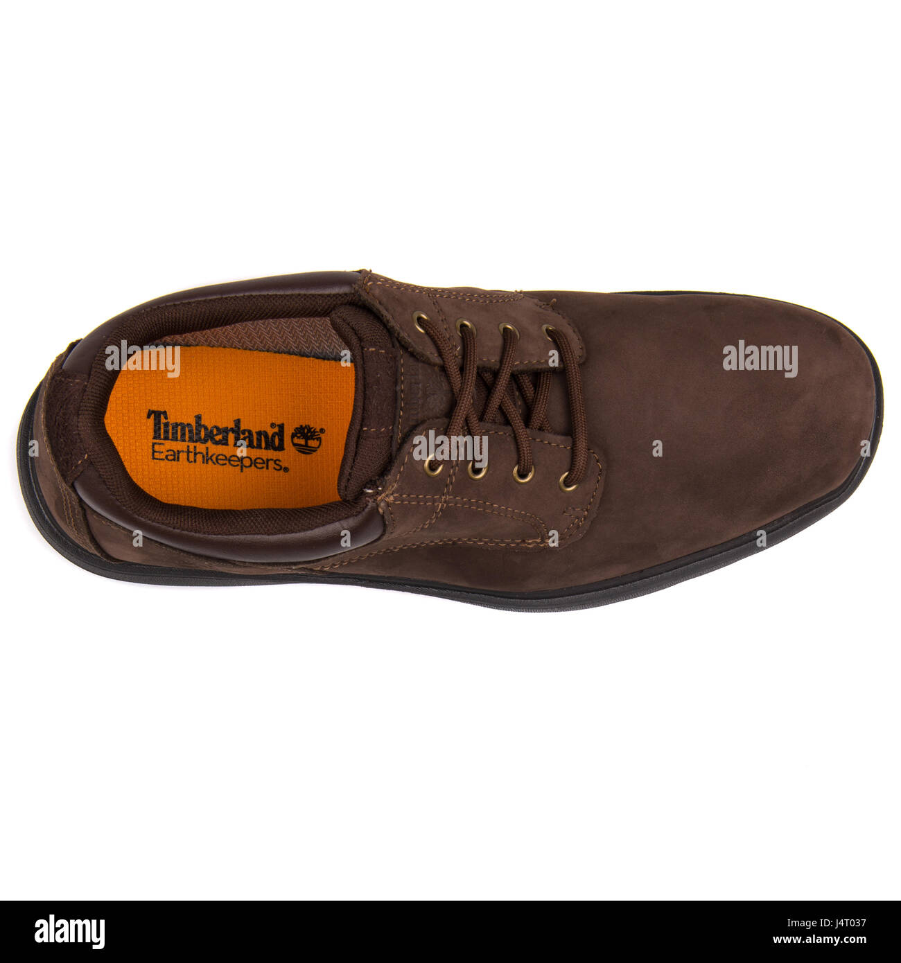 Sandalias Viaje Hay una tendencia  Timberland Earthkeepers Richmont Oxford GTX Shoe Dark Brown Leather Stock  Photo - Alamy
