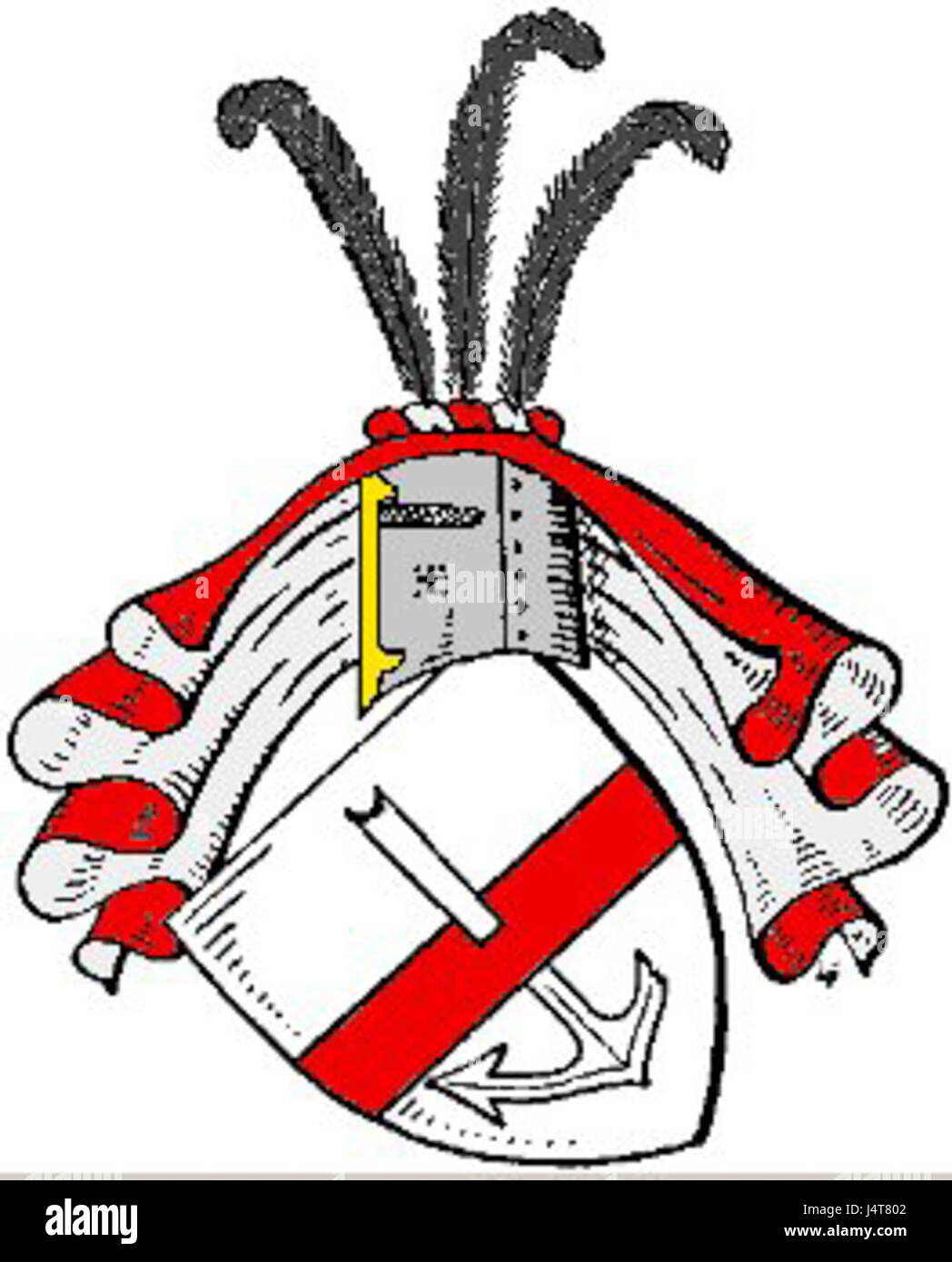 Wappen Lettow Vorbeck - Stock Image