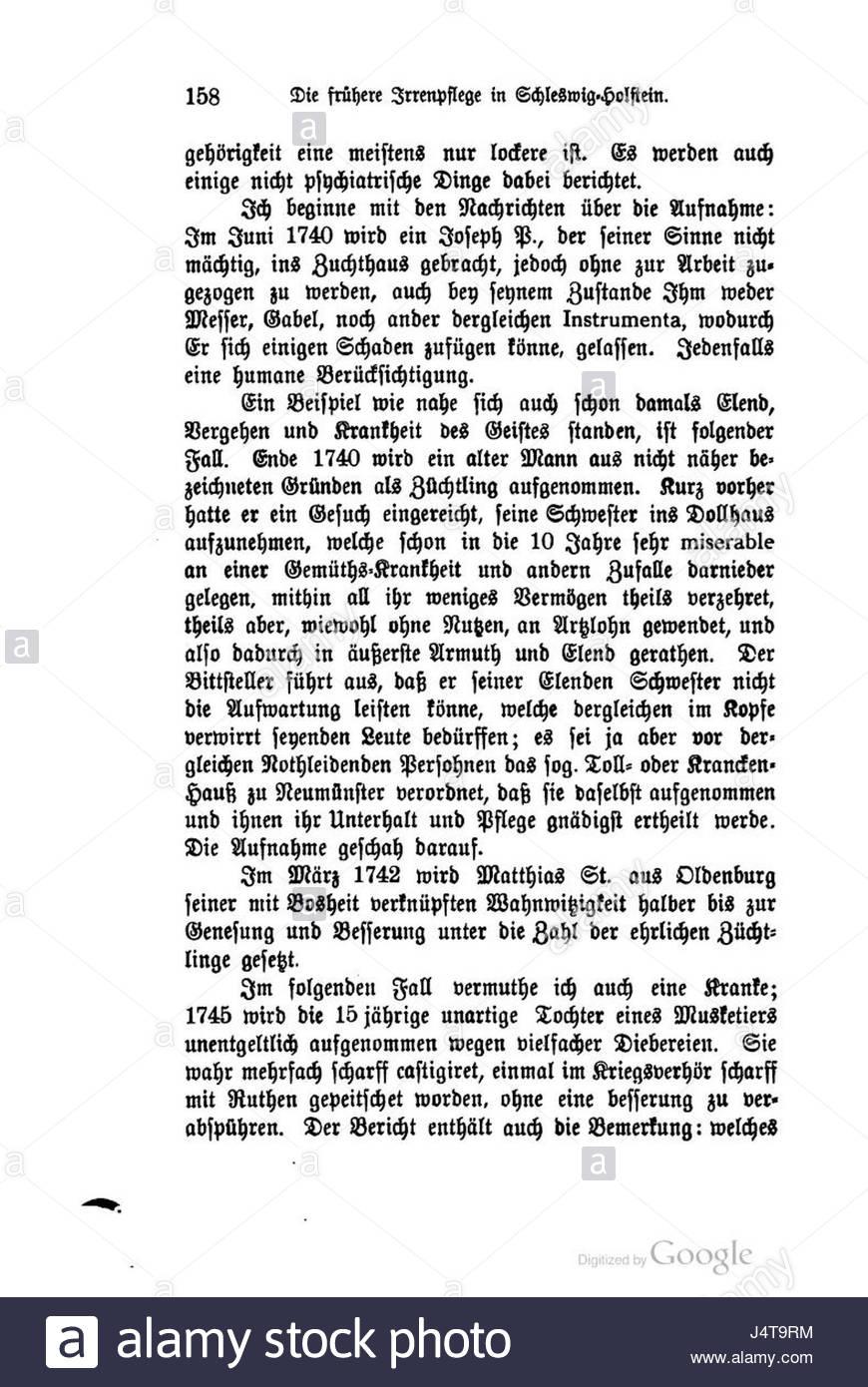 Zeitschrift der Gesellschaft fr schles 20 0169 - Stock Image