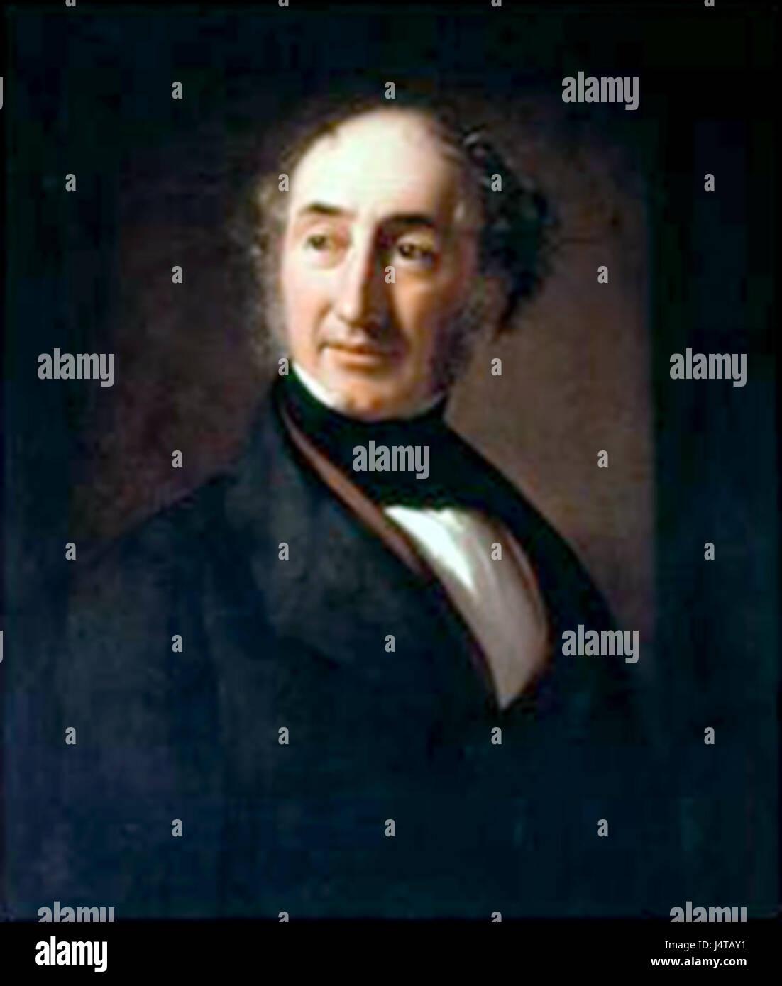 William Jackson Hooker by Spiridione Gambardella - Stock Image