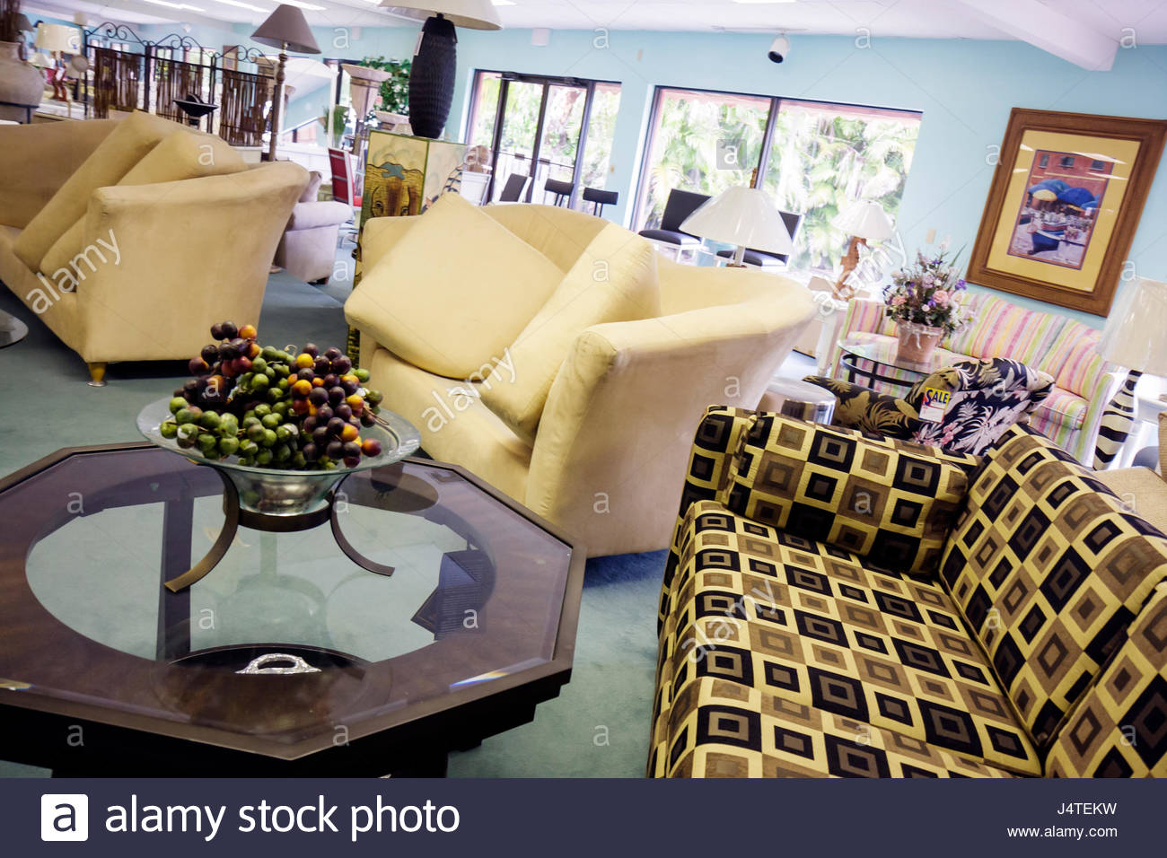 Naples Florida Furniture Store Business Retail Showroom Couch Sofa