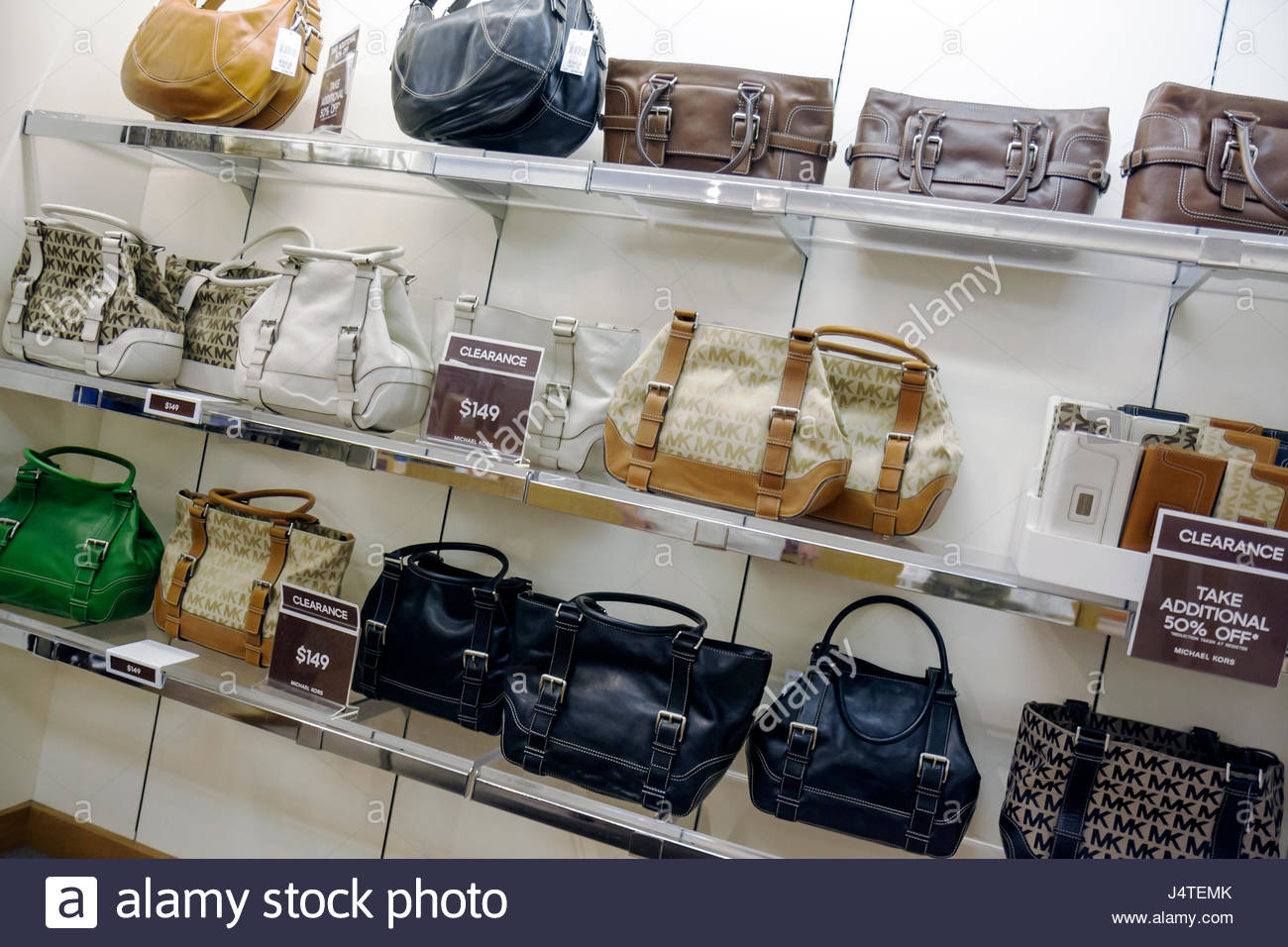 Naples Florida Estero Miromar Outlets retail mall brand designer discount  Michael Kors handbag clearance shopping half price 50% 21114612d1