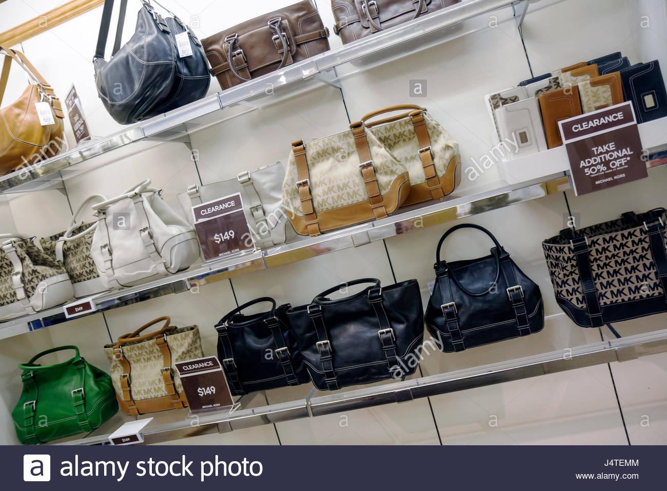 eb031d7dcf82 Naples Florida Estero Miromar Outlets retail mall brand designer discount Michael  Kors handbag clearance shopping -