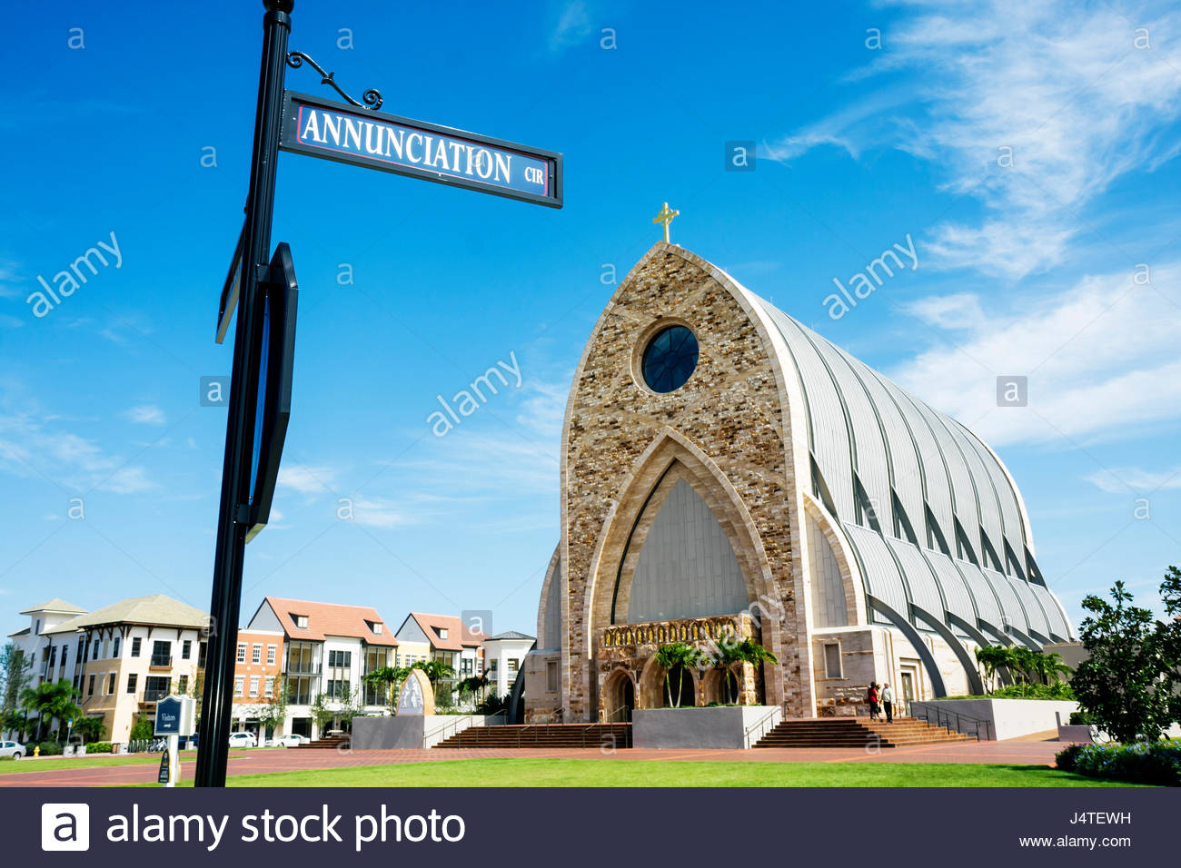 Naples Florida Ave Maria planned community college town Roman Catholic university Christian religion Tom Monaghan - Stock Image
