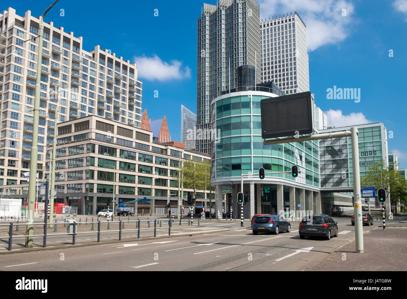 Examples Of Modern Architecture Design Seen In Central Den Haag The