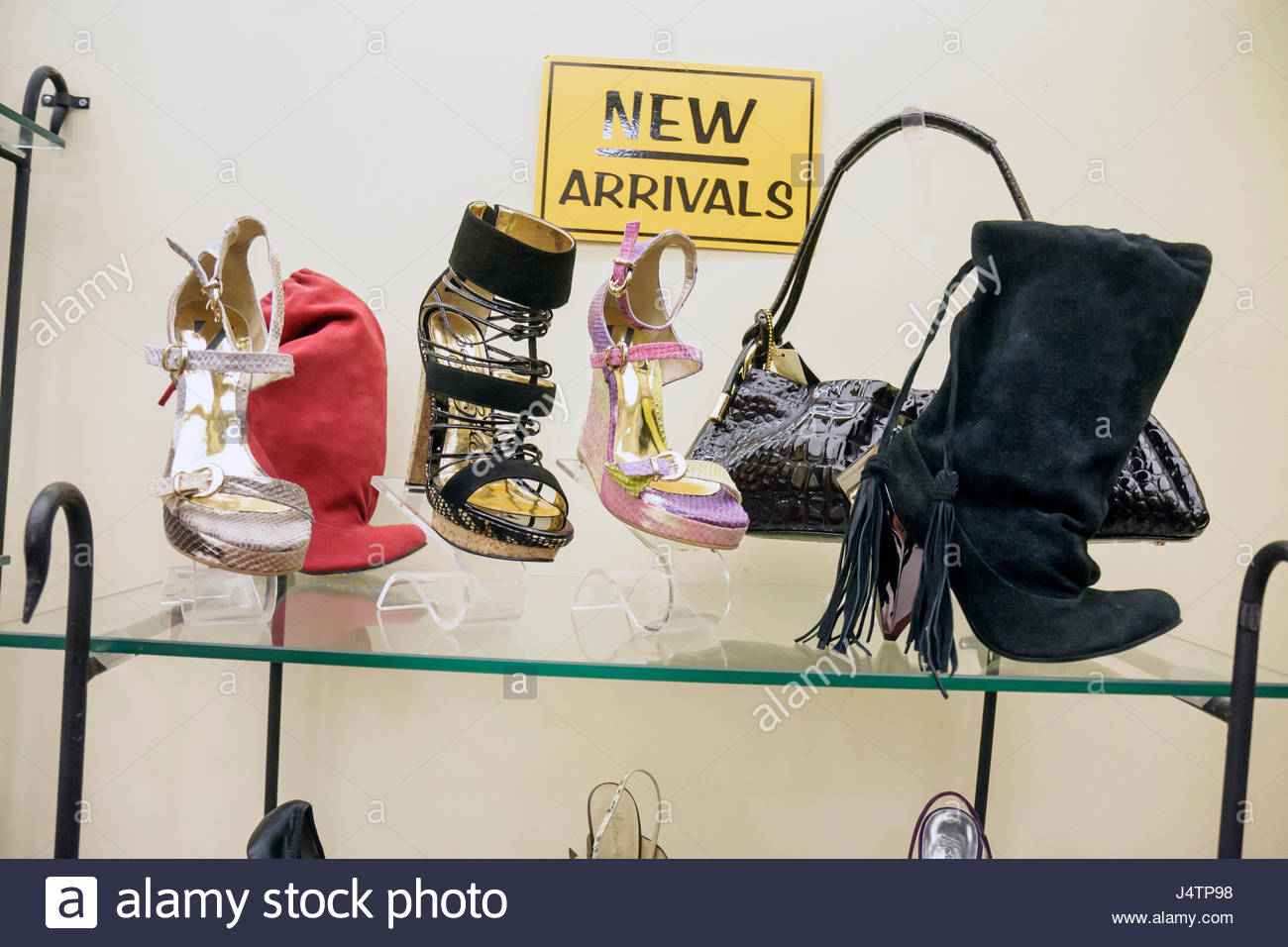 03c6dd31085002 Miami Beach Florida Collins Avenue shopping fashion retail display boutique  small business shoe store footwear shoes