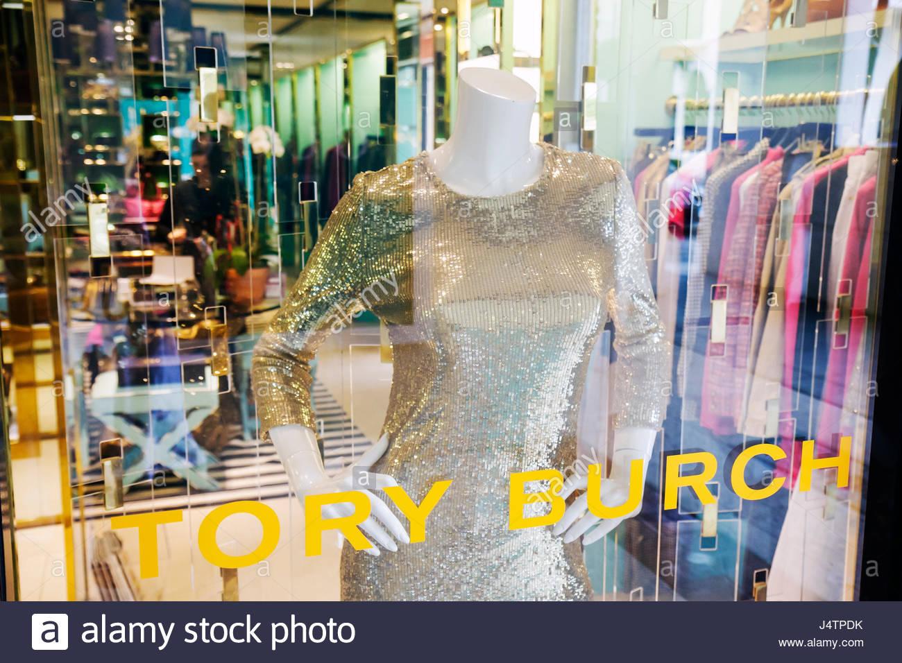 0fc4fe6543a4 Palm Beach Florida Worth Avenue Tory Burch boutique business store window  fashion designer upscale luxury high-end shopping reta