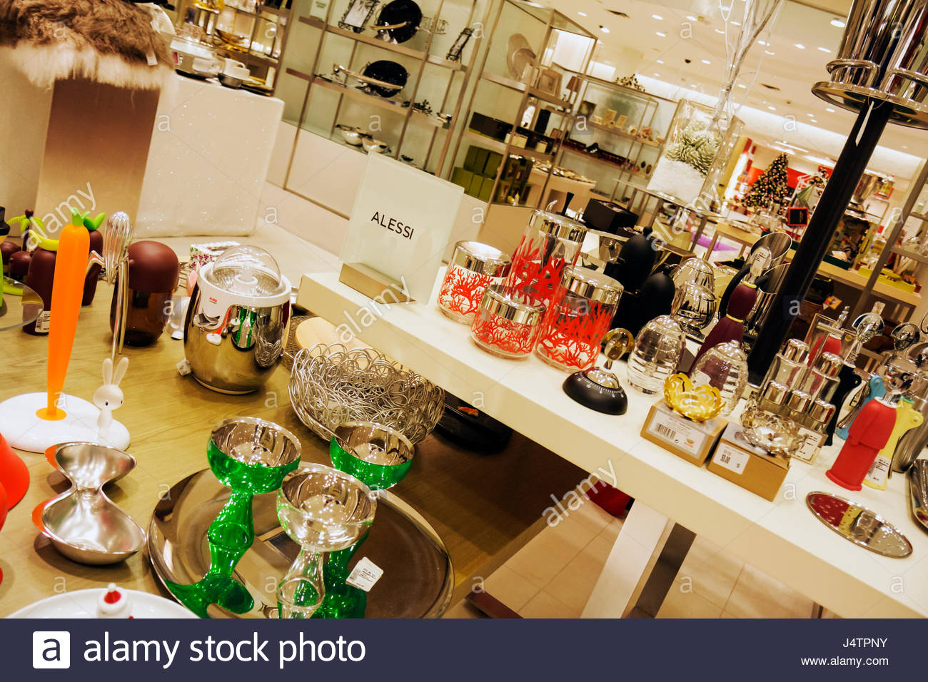 Palm Beach Florida Gardens The Gardens Mall Saks Fifth 5th Avenue business retail fashion upscale luxury high-end - Stock Image