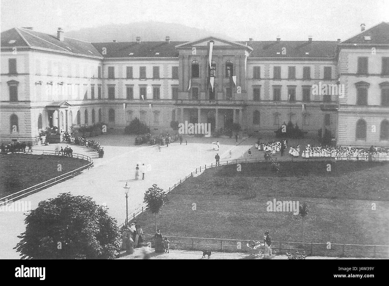 Zofingen Gemeindeschule - Stock Image