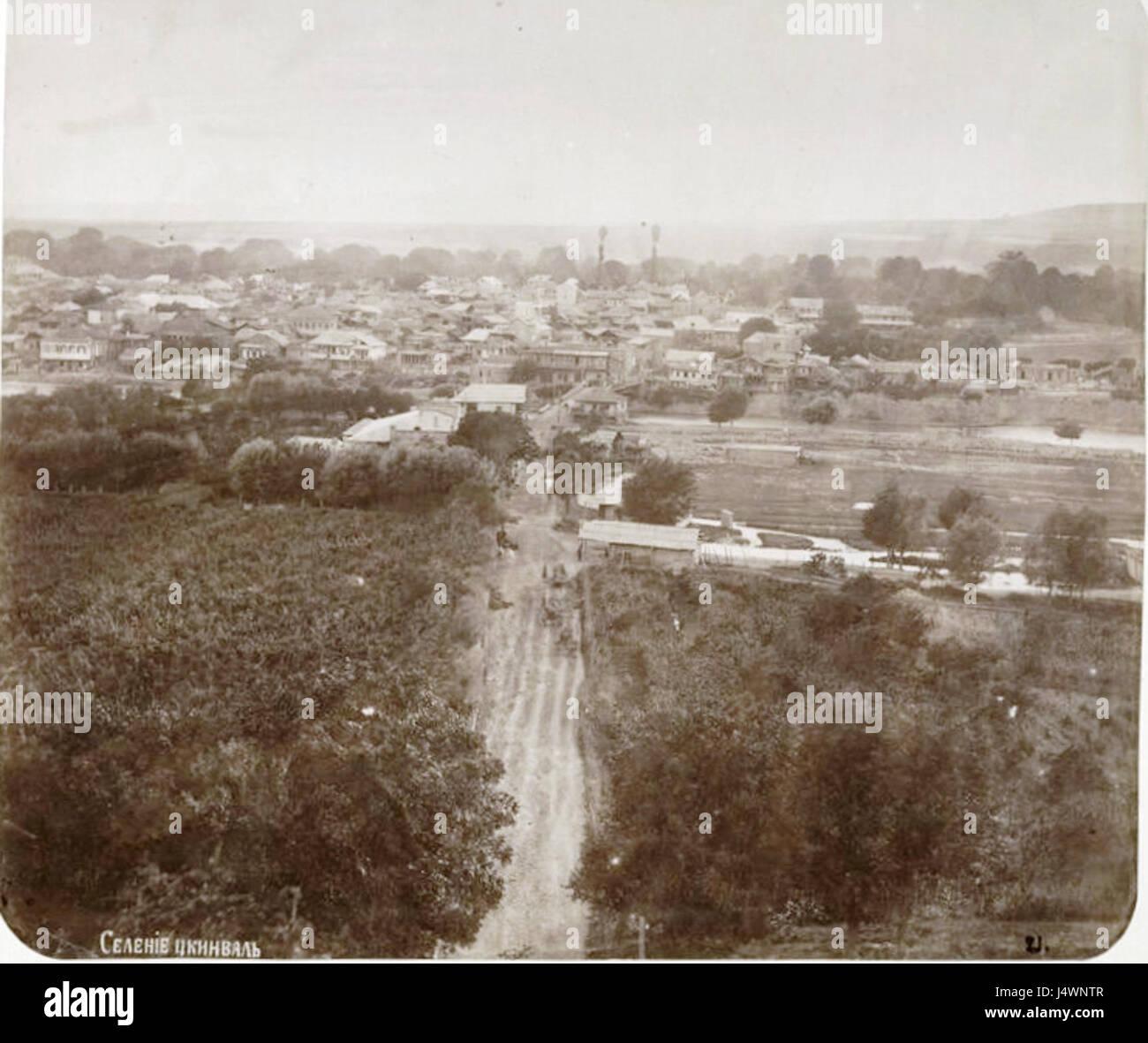 Tskhinvali. Rudnev, D 1886 - Stock Image