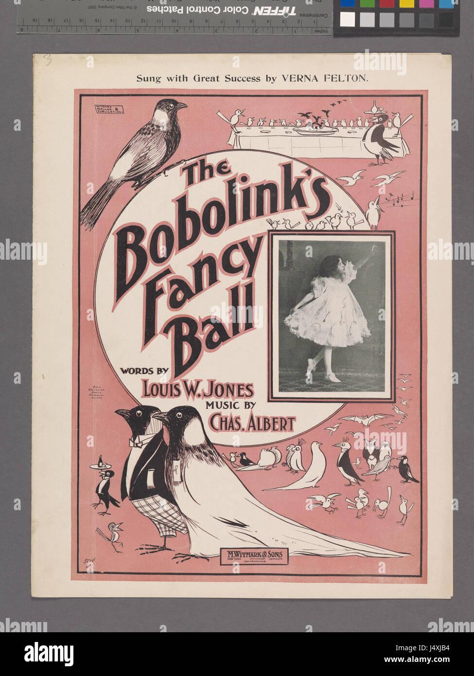 The bobolinks fancy ball (NYPL Hades 1924973 1953238) - Stock Image