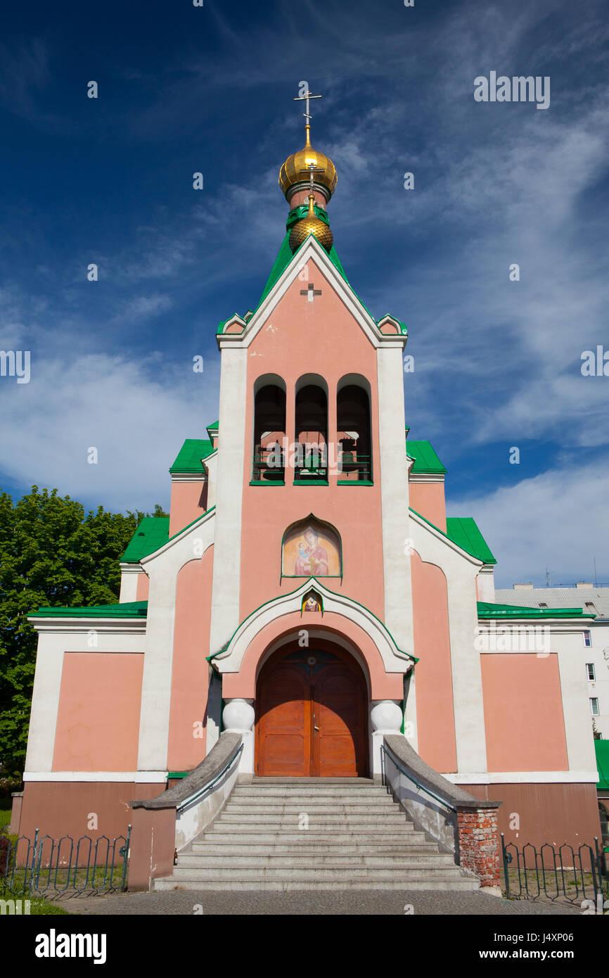 Church of Saint Gorazd, Olomouc, Czech Republic / Czechia, Central Europe - Stock Image