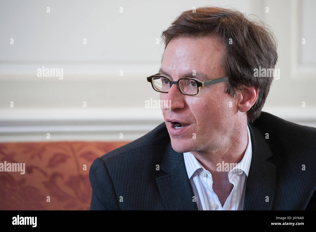 Professor Karl Gerth, author, historian, writer and academic on Chinese consumerism - Stock Image
