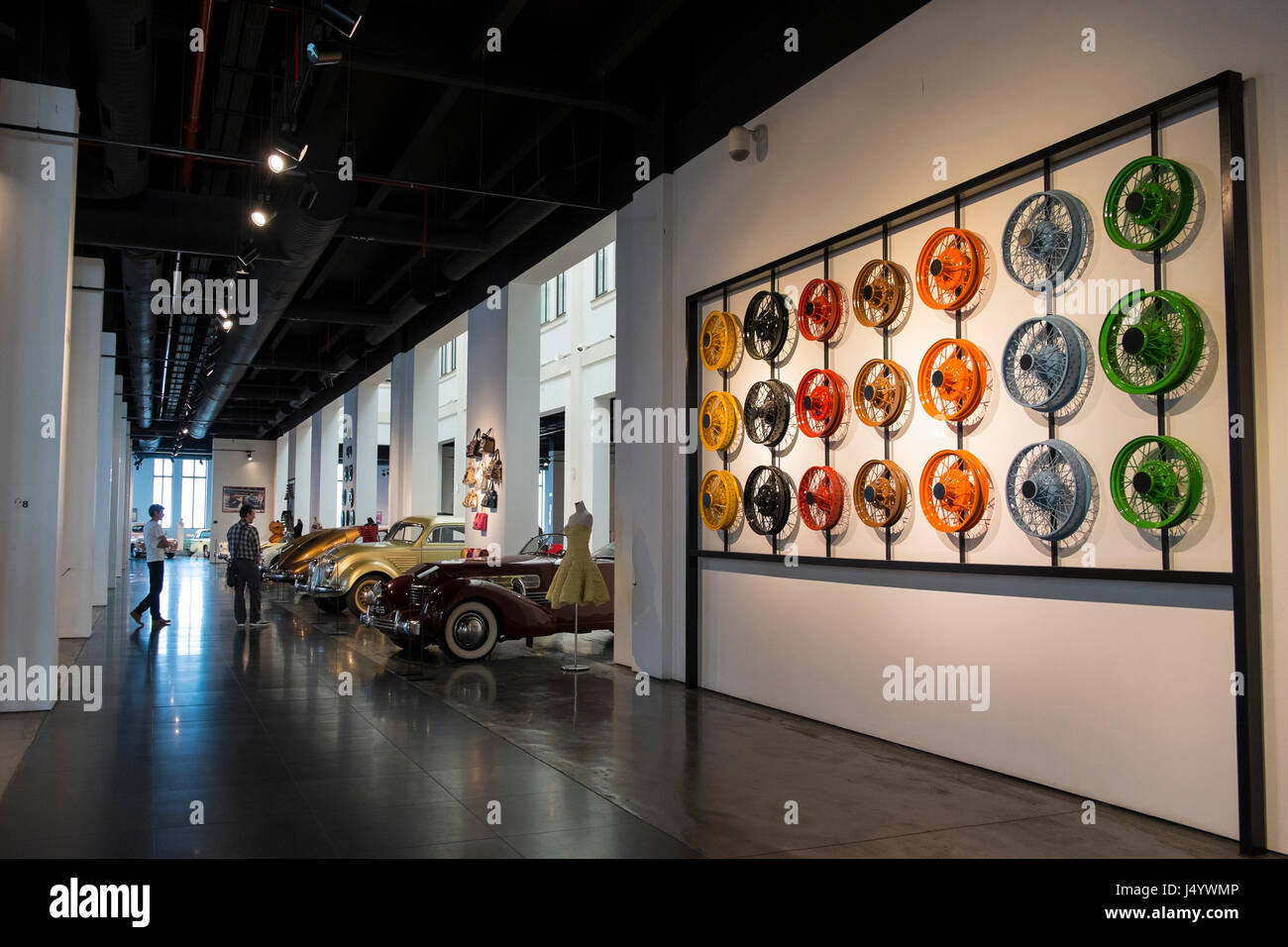 Automobile Museum of Málaga, Andalusia, Spain. - Stock Image