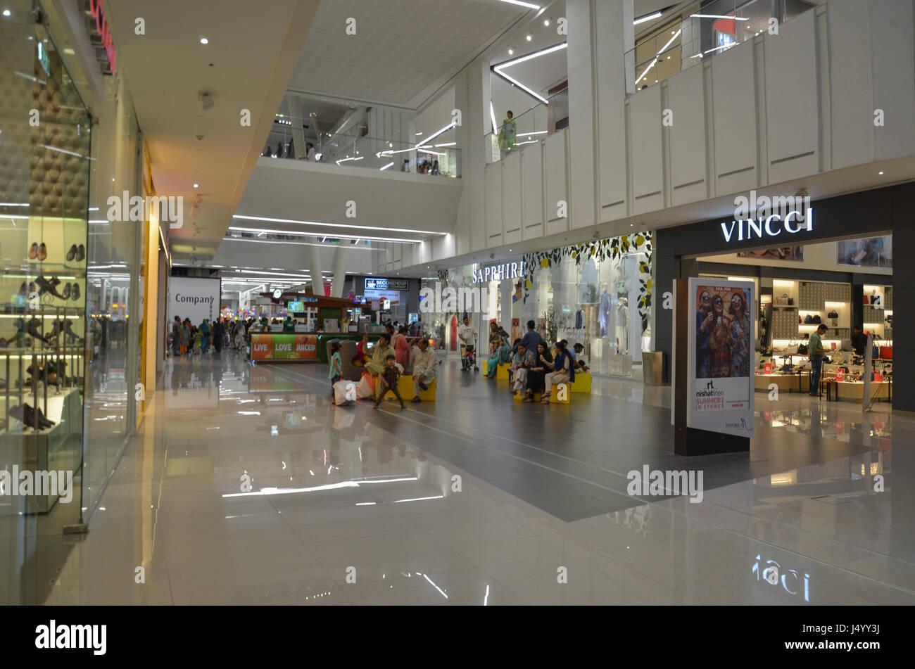 Emporium Shopping Mall, Lahore Pakistan - Stock Image